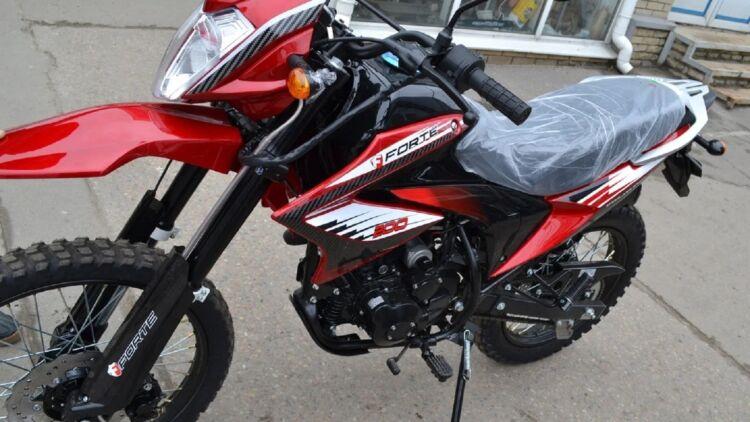 Сканування молдінгів мотоцикла Honda Forte 200