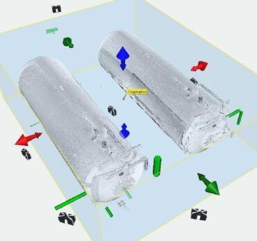 3D сканування резервуарів