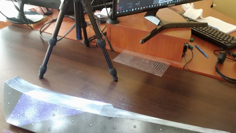 Сканирование спойлера
