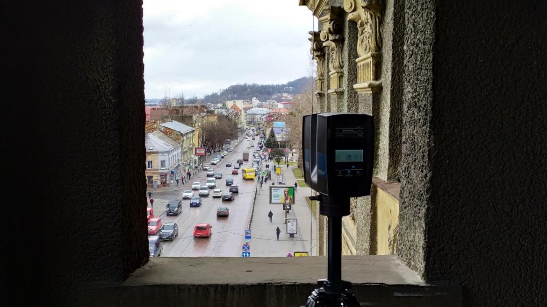 3D сканування будівлі