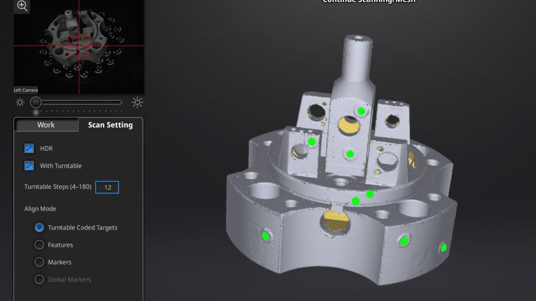 Сканування та реінжиніринг складного механізму для автоматизованої лінії від компанії PromScan3D